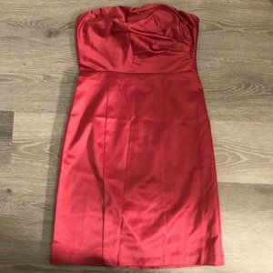 NEW The Limited Red Satin Dress Size 6